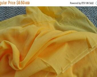 Puur op verkoop zeer zachte voile stof sjaal mulmul gele voering voile katoen door yard