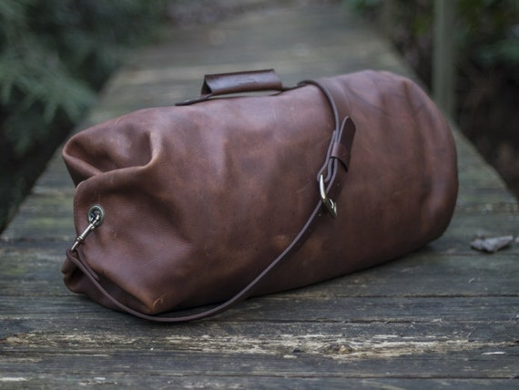 Leather Duffle Bag The Gunnar Duffle Military Style Duffel