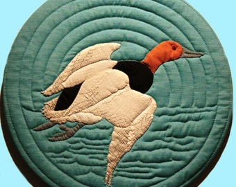 Canvasback Quilted Wall Hanging Pattern