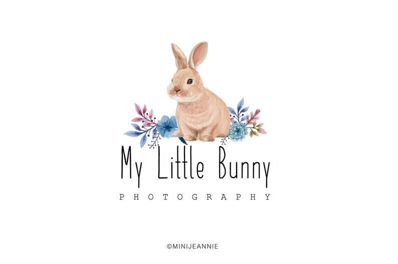 2f8d8a73e57ce Bunny Logo-Rabbit Logo-Animal Logo-Kids Logo-Watercolor Logo-Etsy  Logo-Photography Logo-Business Logo-Boutique Logo-Premade Logo