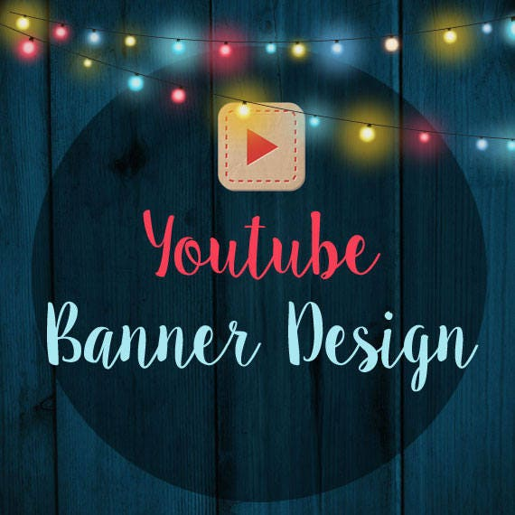 Custom Youtube Channel Design: Conception De Bannière Personnalisée Youtube Art Canal
