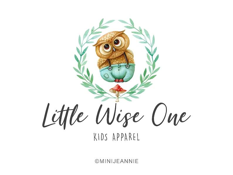 8ccfade821264 Owl Logo-Bird Logo-Animal Logo Logo-Kids Logo-Children Logo-Kids Cloth  Logo-Children Cloth Logo-Baby Cloth Logo-Watercolor Logo-Etsy Logo