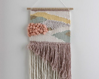 Woven Tapestry. Weaving Wall Hanging. Fiber Wall Art. Vegan Gift. Custom Wall Art. Woven Wall Hanging. Fiber Art Wall Decor Bedroom Wall Art