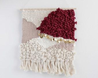 Woven Tapestry, Modern Wall Art, Weaving Wall Hanging, Neutral Wall Decor, Contemporary Weaving, Abstract Art, Wall Decor