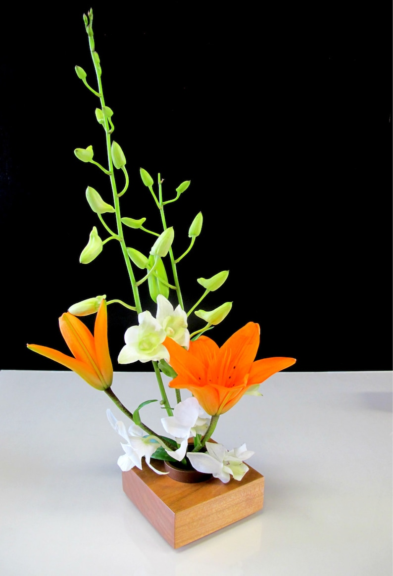 Cherry Ikebana vase  Display beautiful floral arrangements image 0