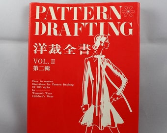 Vintage Sewing Pattern Drafting Book Vol 2 by Dressmaking