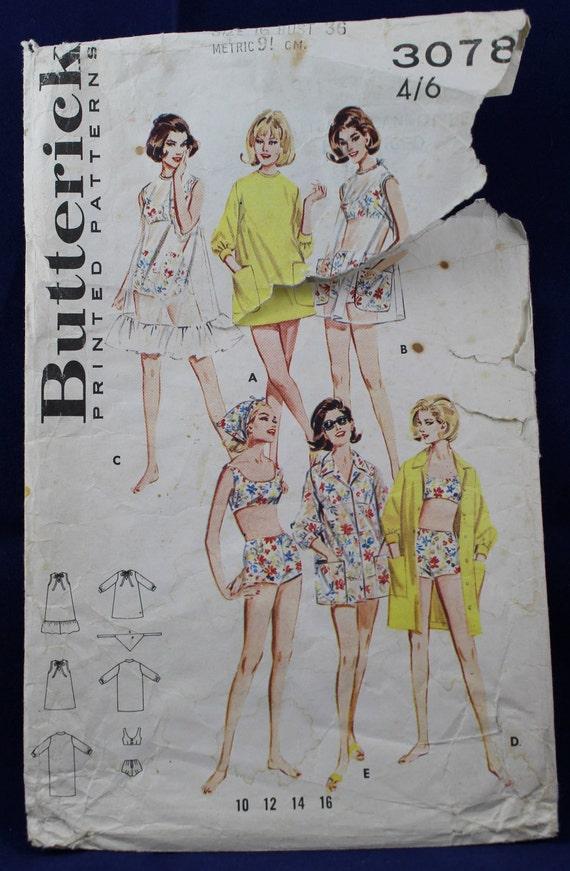 Sewing Pattern for Women\'s Beachwear in Size 16 | Etsy