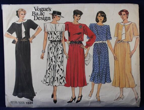 Alte Schnittmuster für eine Frau das Kleid in Größe 10.08.12 | Etsy