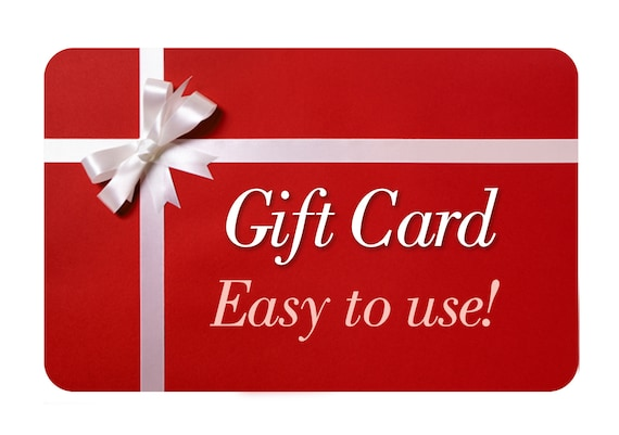 Gift Card A Printable Etsy Gift Certificate For A Last Minute Gift