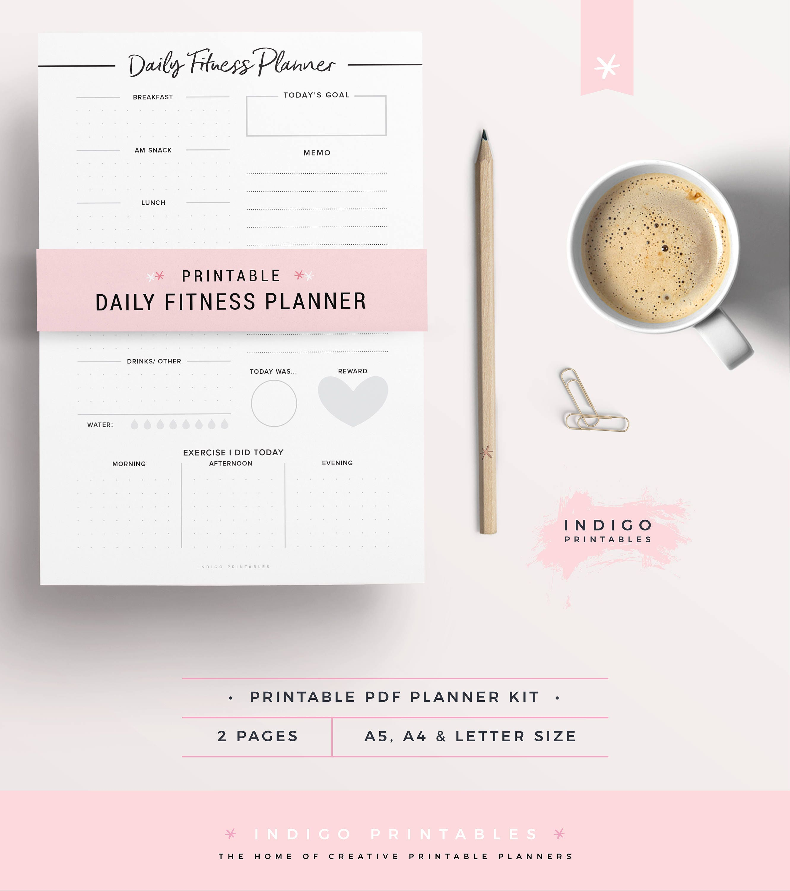 daily fitness planner Idealvistalistco