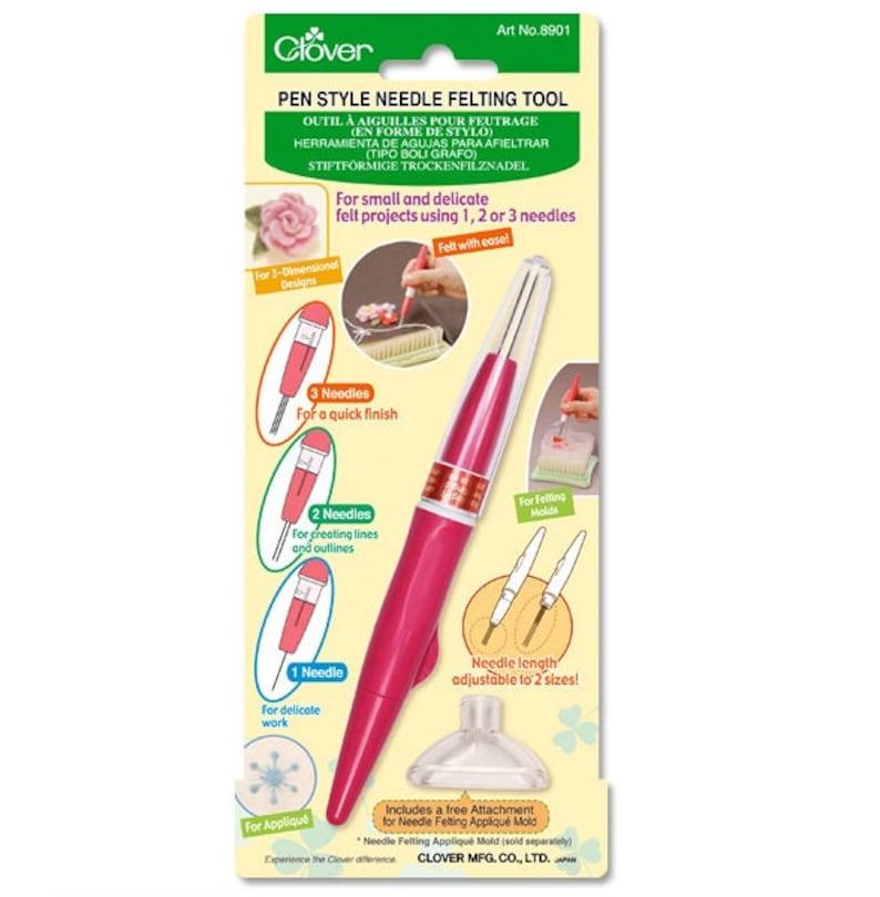 Bonus 3 extra 36G needles  Clover 3-needle Pen-style Needle image 0