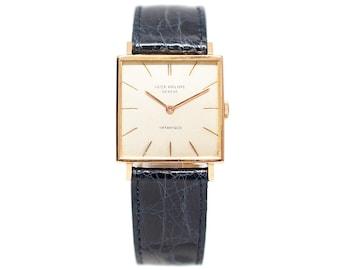 a0c3a3fabd7 1960s Patek Philippe Tiffany Pink Gold Manuel Wind Watch