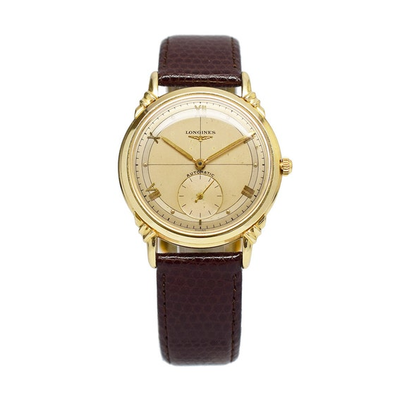 1950s Vintage Longines 14K Gold Watch with Nautica