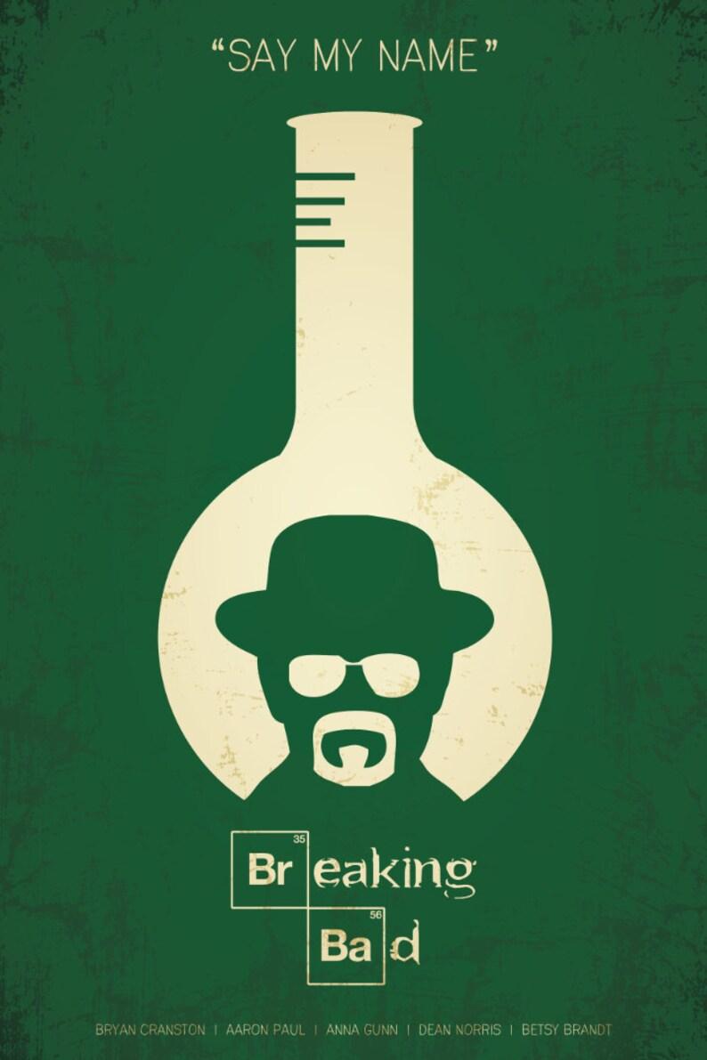 Breaking Bad Minimalist Poster | Etsy