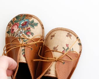 COTTAGE modern baby shoes in genuine soft leather and cotton