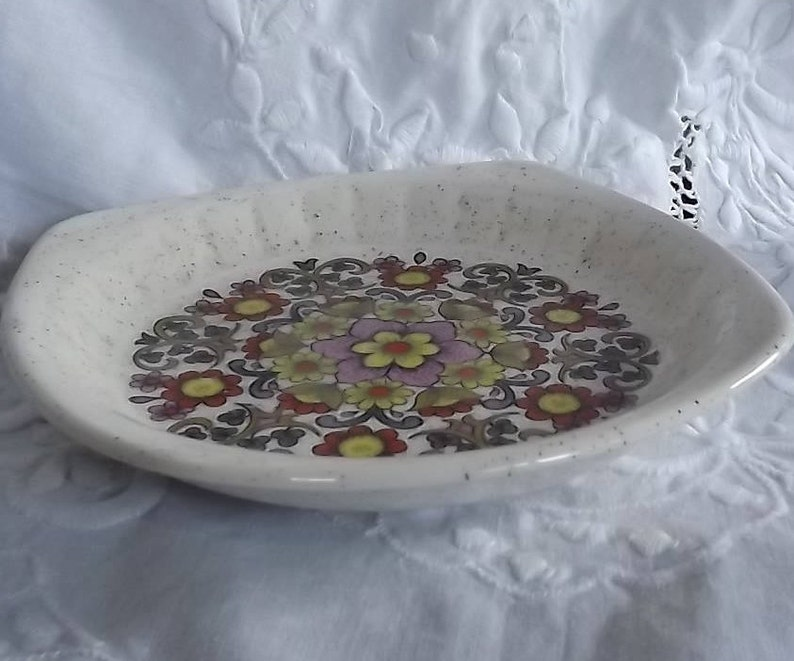 Trinket Dish Ring Dish. Royal Worcester Plassy