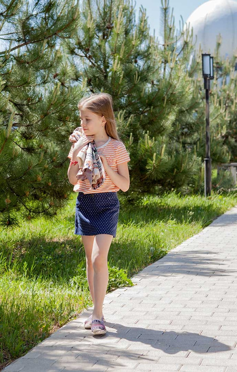 9cf3d8010c5 Mini jupe de la jeune fille mini jupe en lin jupe avec