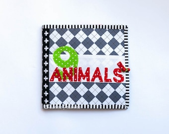 Quiet book, activity book, childrens book, book, fabric book, learning book, activity pad