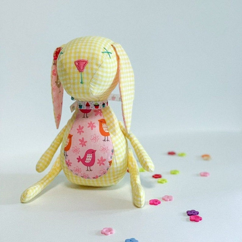 Rabbit  toy stuffed animal doll gift for babies cotton toy image 0