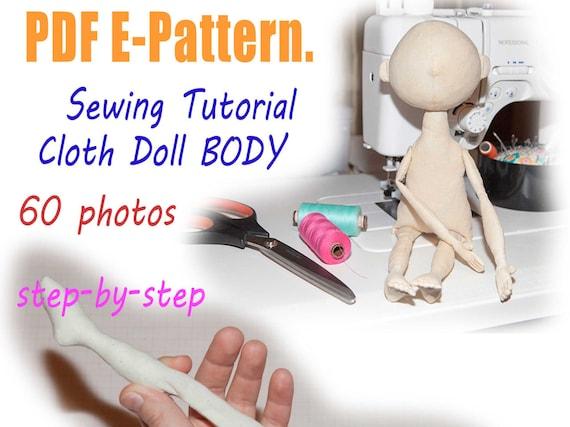 PDF-Tuch Puppenkörper Muster & Tutorial Puppe Schnittmuster | Etsy