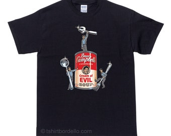 Bruce Campbells Soup Horror T Shirt