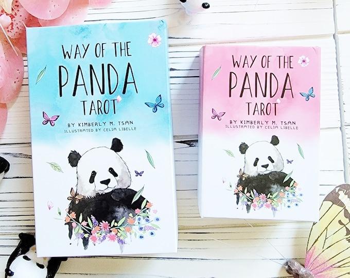 Featured listing image: FREE SHIPPING + DISCOUNT | Panda Family Bundle | Way of the Panda Tarot