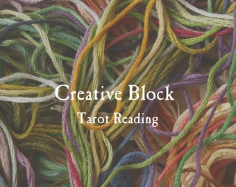Creative Block Tarot Reading | Inspiration, Artistic Expression & Creative Flow