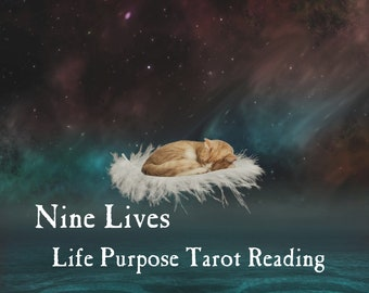 Nine Lives Tarot Reading | Dive Into Your DNA & Discover Your Cosmic Purpose