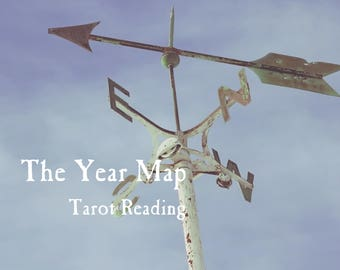 The Year Map Tarot Reading: Make the Best Out of 2018!