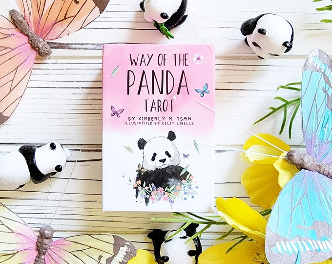 Featured listing image: Way of the Panda Tarot: Baby Panda Edition | Pocket Edition