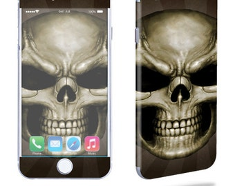 Skin Decal Wrap for Apple iPhone 7 7 Plus 6 6 Plus 5C 5/5S 4 iPod Touch 5G Touch 4G Vinyl Cover Sticker Skins Skeletor