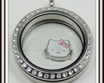 8ebd803ea Hello Kitty Floating Charm for Glass locket