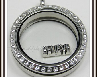 Believe Floating Charm for Glass Locket / Floating Locket