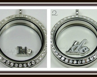 I do Floating Charm for Glass locket / Floating Locket / Memory Locket