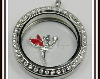 Fairy Floating Charm for Glass locket / Floating Locket / Memory Locket
