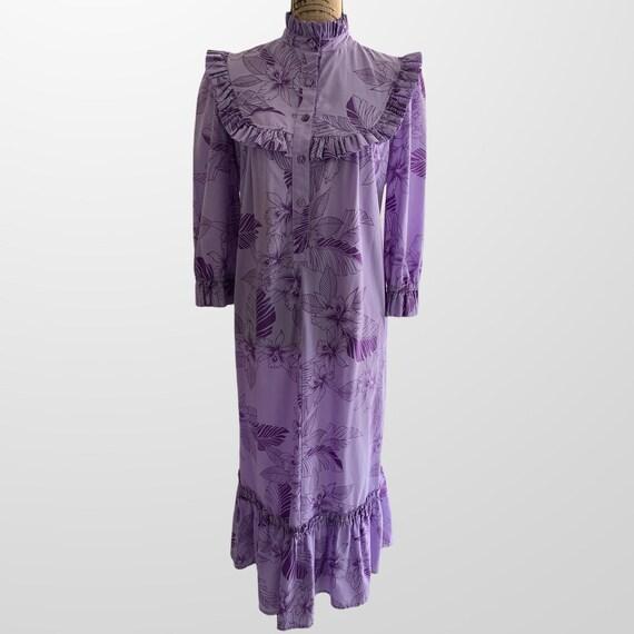 Vintage Hawaiian MuuMuu Dress T & L Muumuu Hawaii