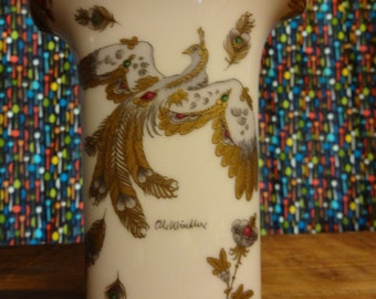 German Hutschenreuther Vase by Ole Winther