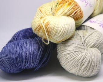 Luna Sol - 3-PACK Matrix Hand-Dyed Complex Tonal Yarn