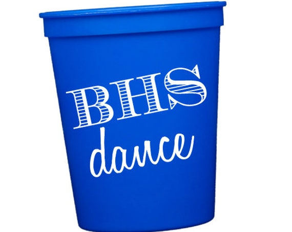 Dance team cups