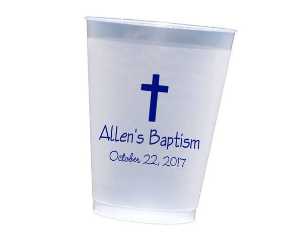 Christening party cups, Baptism cups, first communion cup, Confirmation cups, Church party cups, First communion decor, baby dedication