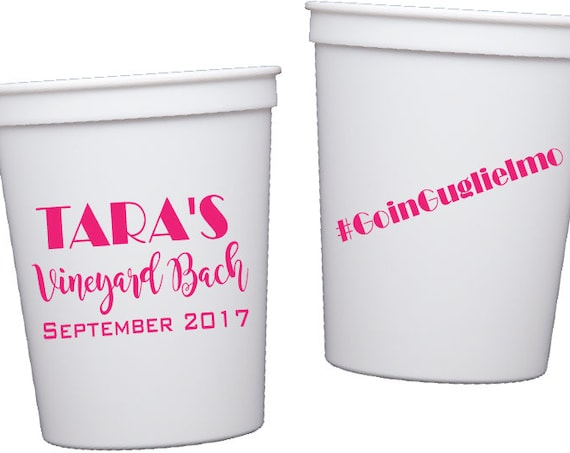 Bachelorette party cups, bachelorette weekend personalized plastic cup, Bride tribe cups, Wedding party cups, bachelorette bash party favor
