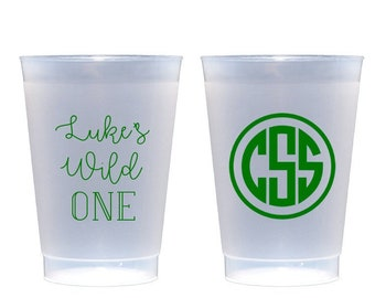Wild one birthday party cups, Wild one first birthday, Personalized cups, Personalized birthday cups, Kids birthday cups, Birthday favor