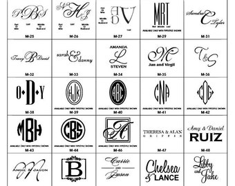 Monogrammed cocktail napkins, party napkins, monogrammed reception napkins, wedding napkins, personalized napkins, bar cart accessory