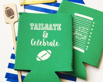Tailgate and celebrate party, tailgating can cooler, Football birthday party, Football season, tailgating cookout, Super Bowl party