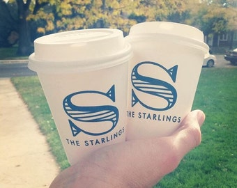 Personalized paper cups, disposable cups, custom coffee cups, hot chocolate cups, Wedding cups, reception cups, to go cup, personalized cups