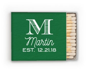 Wedding matches, Wedding matchbox, Reception matches, Personalized matchbox, Custom matches, party favor matches, Wedding reception matches