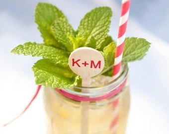 Personalized drink stirrers , monogrammed wooden drink stirrer, monogrammed stirrer stick, custom stirrers, drink stirrers, wedding stirrer