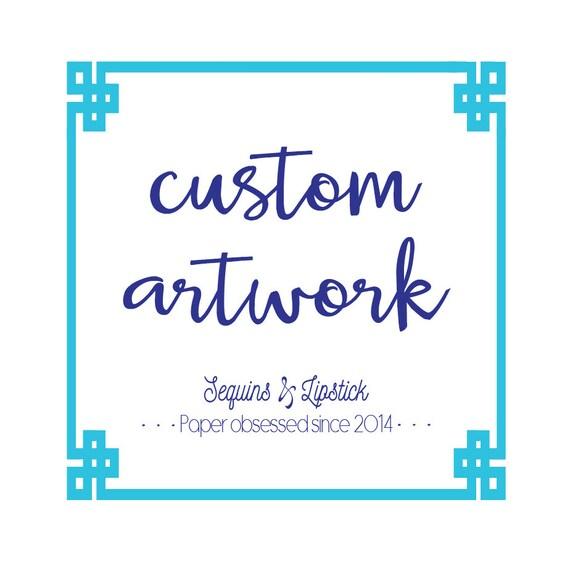 Custom Artwork Fee, S&L created