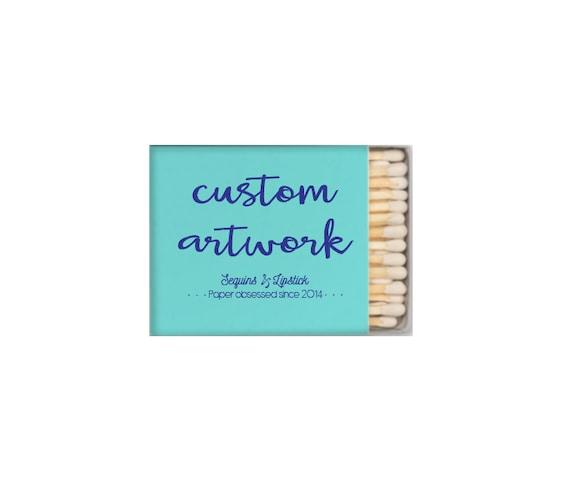Custom matches, logo printing, custom matchbox, wedding matches, sparkler sendoff