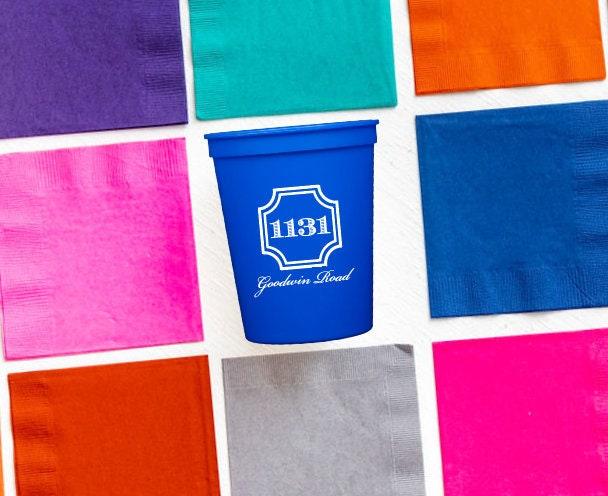 Housewarming Gift Idea New Home Gift Idea Address Cups